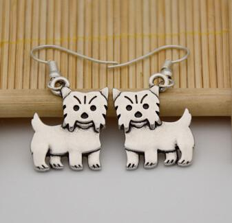 Cute Yorky Puppy Earrings