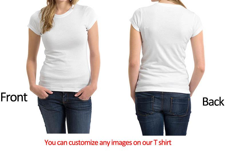 Fully Customizable (Own Picture) Women's T-shirt