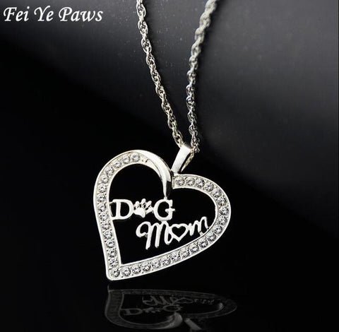 Yorky's Dog Moms Tribute Necklace