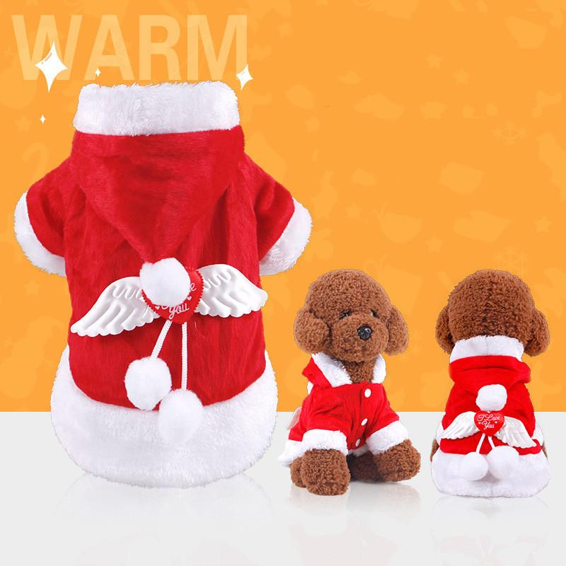 Yorky Christmas Angel Costume