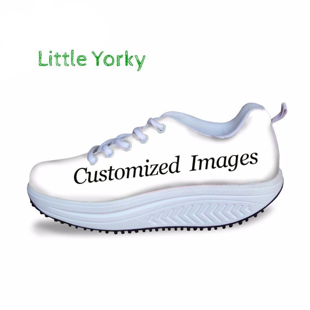 Fully Customizable (Own Picture) Women's Swing Shoes