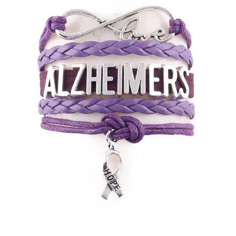 Alzheimer's Disease Awareness Bracelet