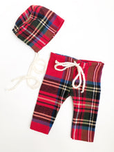 Plaid Pant + Bonnet