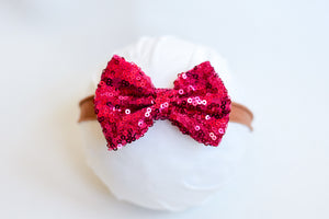 Pink Holiday Bow