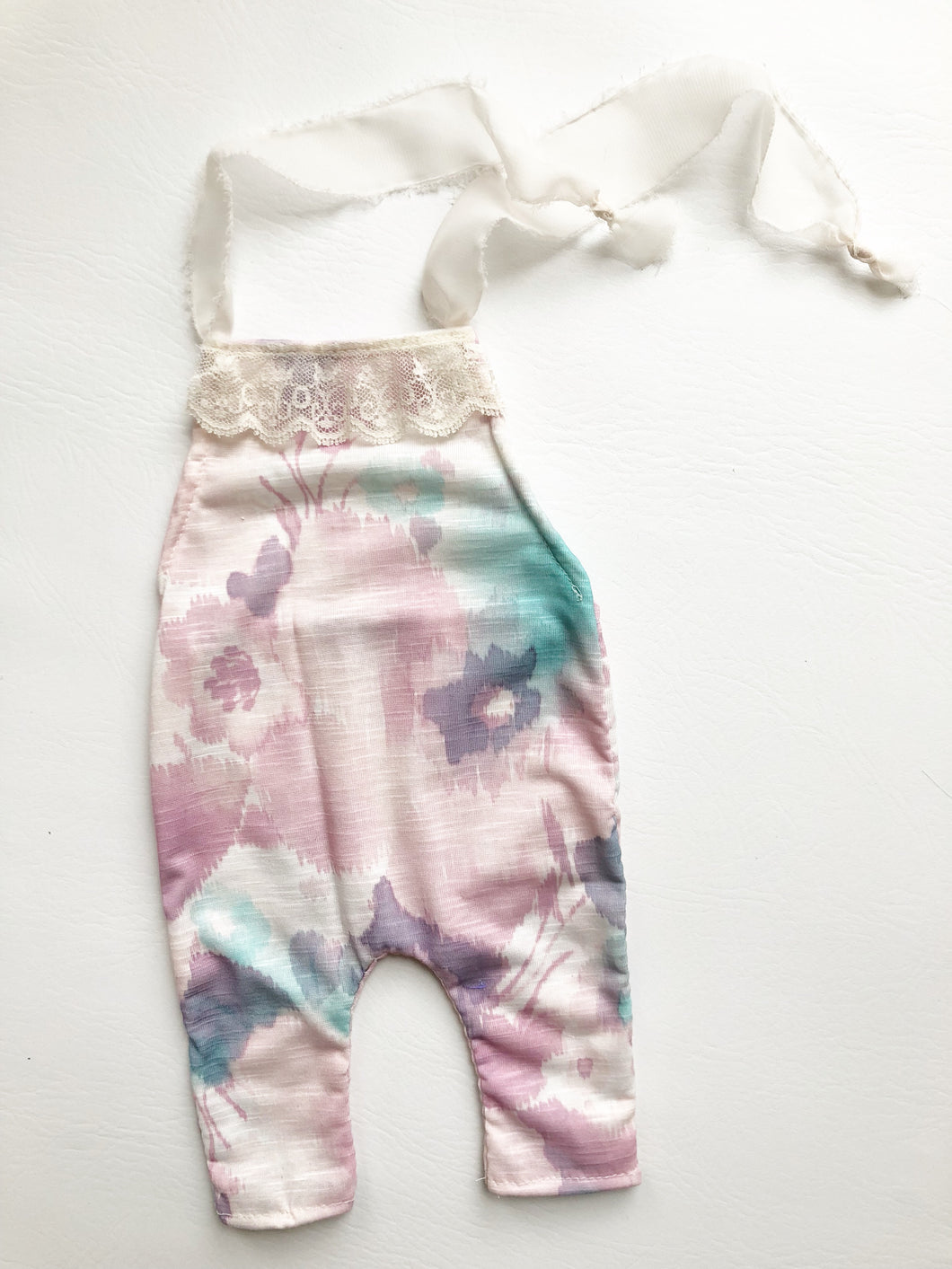Watercolor overalls
