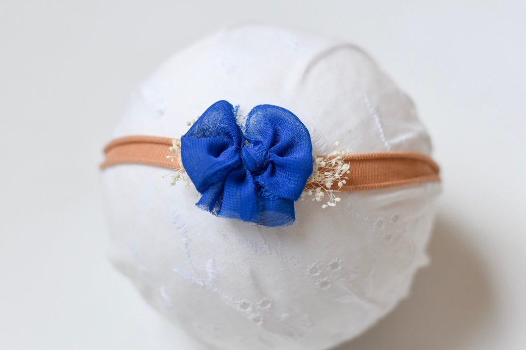 Royal Blue Chic Bow