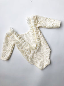 Cream Scallop Lace