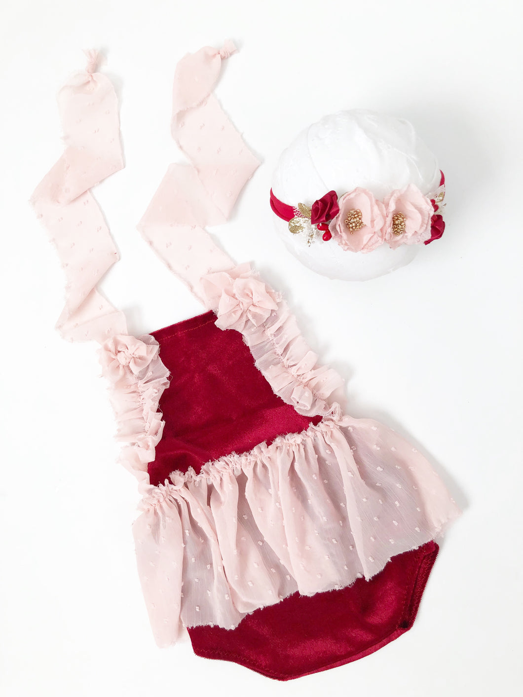 MTO Valentine Sitter Set with CRUSHED VELVET