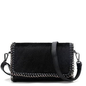 SELENA Crossbody Bag - Black