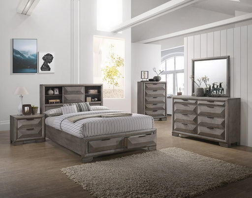 New Classic Furniture | Bedroom WK Bookcase Storage 5 Piece Bedroom Set in Frederick, MD 2069