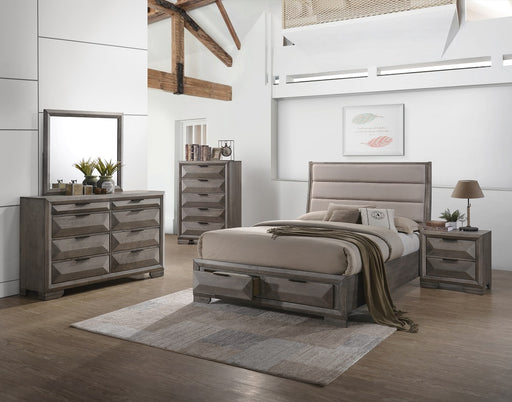 New Classic Furniture |Bedroom WK Panel Storage 5 Piece Bedroom Set in Baltimore, MD 2048