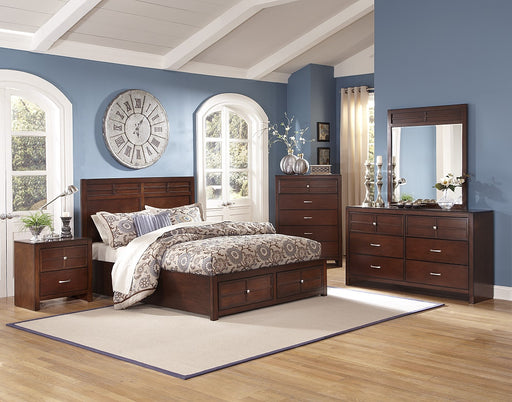New Classic Furniture | Bedroom EK Storage 5 Piece Bedroom Set in Annapolis, MD 2350