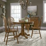 Liberty Furniture | Casual Dining 5 Piece Round Table Sets in Lynchburg, Virginia 11977