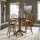 Liberty Furniture | Casual Dining Optional 5 Piece Pub Sets in Winchester, Virginia 12046