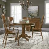 Liberty Furniture | Casual Dining Optional 5 Piece Round Table Sets in Hampton(Norfolk), Virginia 12007