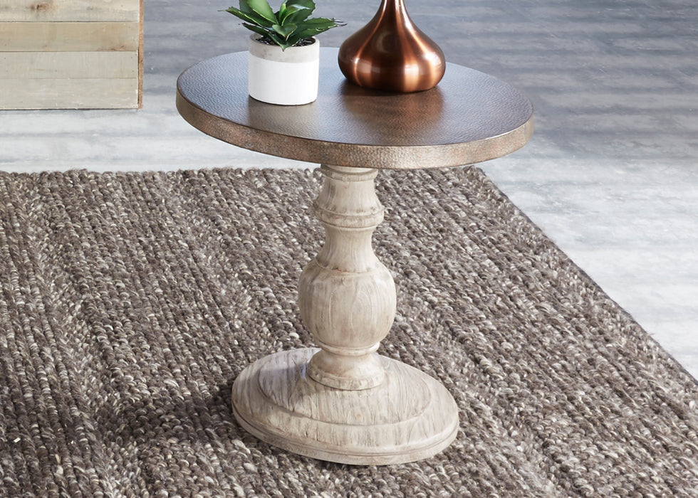 Liberty Furniture | Occasional Round End Table in Richmond,VA 3555