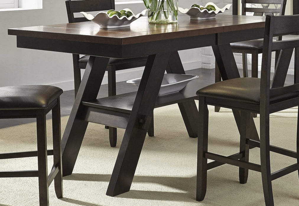 Liberty Furniture | Casual Dining 6 Piece Gathering Table Sets in Charlottesville, VA 1222