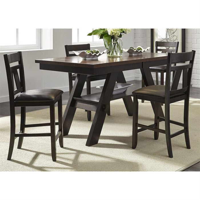 Liberty Furniture | Casual Dining Splat Back Counter Chairs in Richmond Virginia 8879
