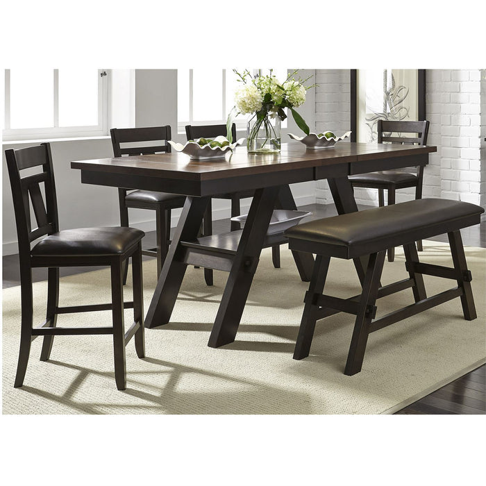 Liberty Furniture | Casual Dining Splat Back Counter Chairs in Richmond Virginia 8880