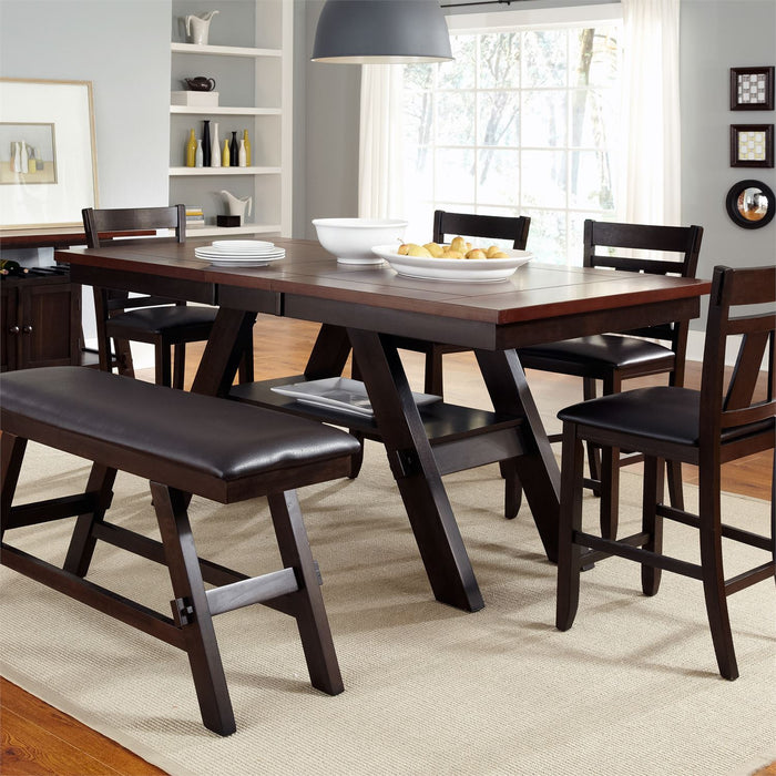 Liberty Furniture | Casual Dining 6 Piece Gathering Table Sets in Charlottesville, VA 1221