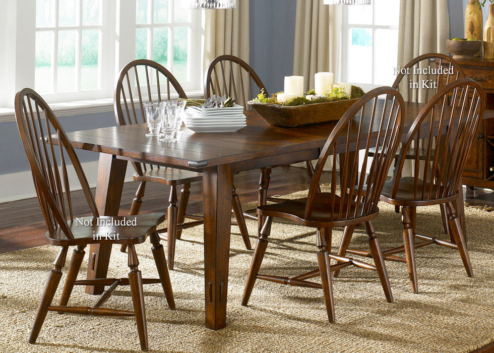 Liberty Furniture | Dining 5 Piece Rectangular Table Sets in Charlottesville, Virginia 1475