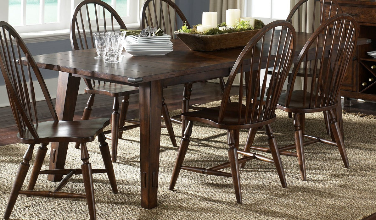 Liberty Furniture | Dining 5 Piece Rectangular Table Sets in Charlottesville, Virginia 1476
