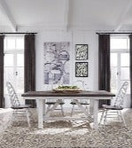Liberty Furniture | Casual Dining 5 Piece Trestle Table Set in Charlottesville, Virginia 18287