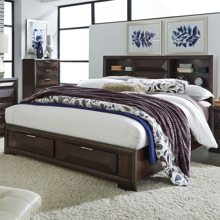 Liberty Furniture | Bedroom King Storage 4 piece Bedroom Set in Annapolis, MD 4327