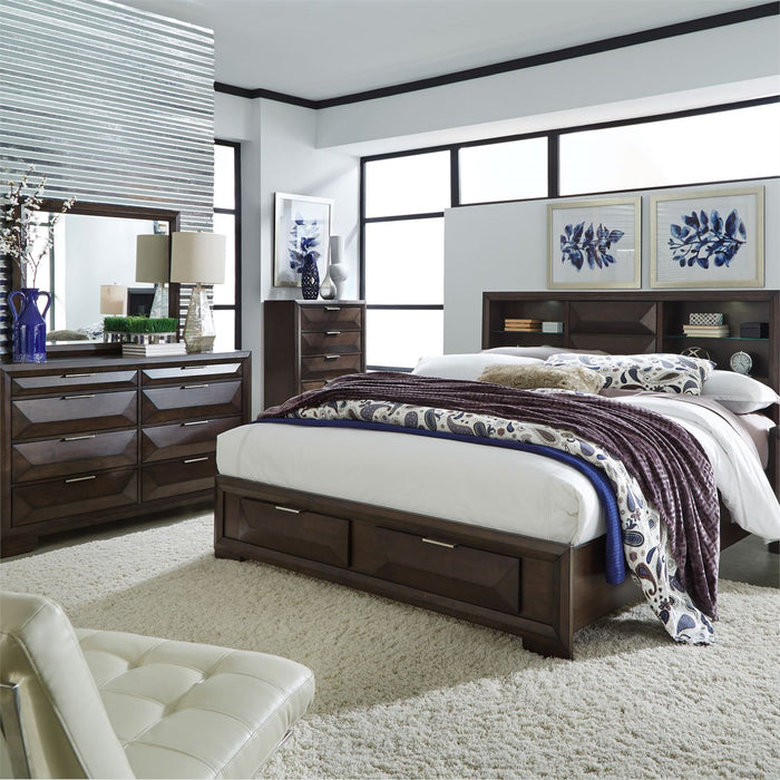 Liberty Furniture | Bedroom King Storage 4 piece Bedroom Set in Annapolis, MD 4326