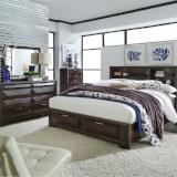 Liberty Furniture | Bedroom King Storage 4 piece Bedroom Set in Annapolis, MD 4325