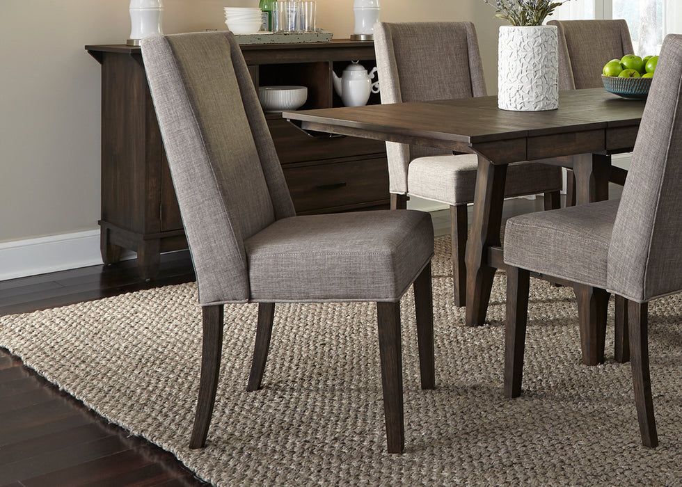 Liberty Furniture | Casual Dining Opt 5 Piece Trestle Table Sets in Charlottesville, VA 1021
