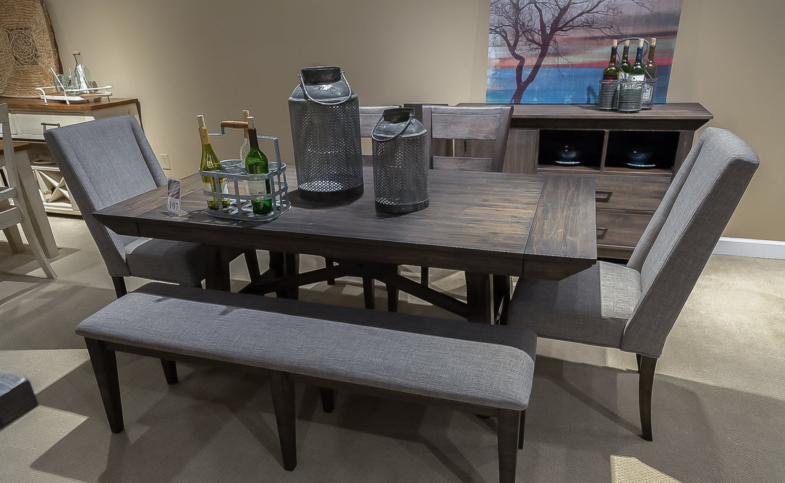 Liberty Furniture | Casual Dining Opt 5 Piece Trestle Table Sets in Charlottesville, VA 1020