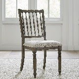 Liberty Furniture | Casual Dining Spindle Back Uph Side Chair (RTA) in Richmond,VA 18842