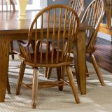 Liberty Furniture | Dining Bow Back Arm Chairs - Oak in Richmond Virginia 11628