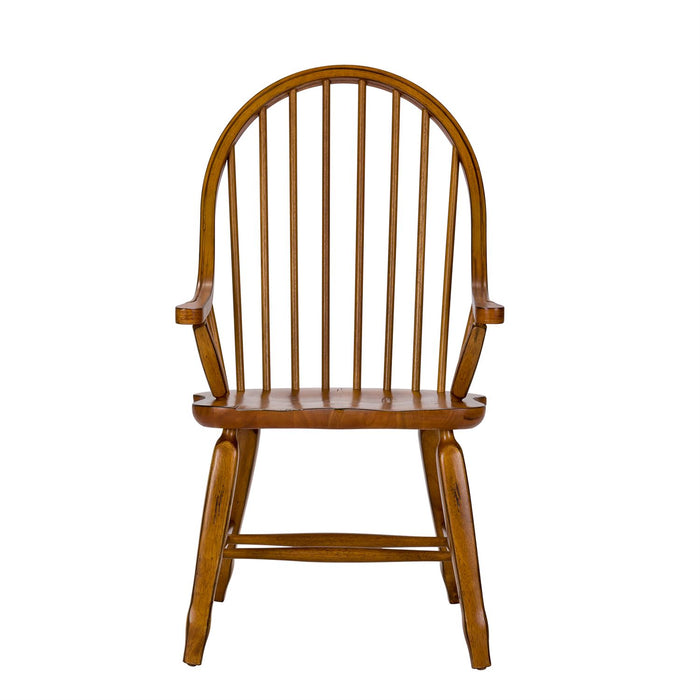 Liberty Furniture | Dining Bow Back Arm Chairs - Oak in Richmond Virginia 11630