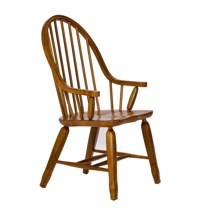 Liberty Furniture | Dining Bow Back Arm Chairs - Oak in Richmond Virginia 11631