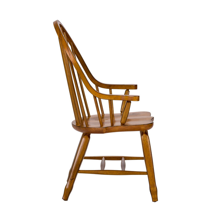 Liberty Furniture | Dining Bow Back Arm Chairs - Oak in Richmond Virginia 11632
