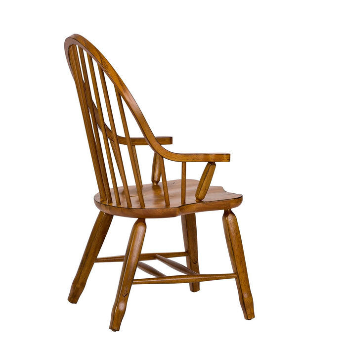 Liberty Furniture | Dining Bow Back Arm Chairs - Oak in Richmond Virginia 11633