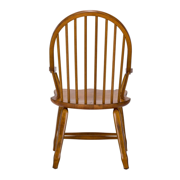 Liberty Furniture | Dining Bow Back Arm Chairs - Oak in Richmond Virginia 11634