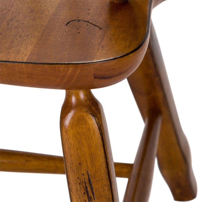 Liberty Furniture | Dining Bow Back Arm Chairs - Oak in Richmond Virginia 11636