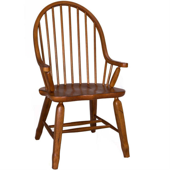 Liberty Furniture | Dining Bow Back Arm Chairs - Oak in Richmond Virginia 11629