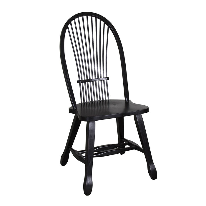 Liberty Furniture | Casual Dining Sheaf Back Side Chair - Black in Richmond VA 7797