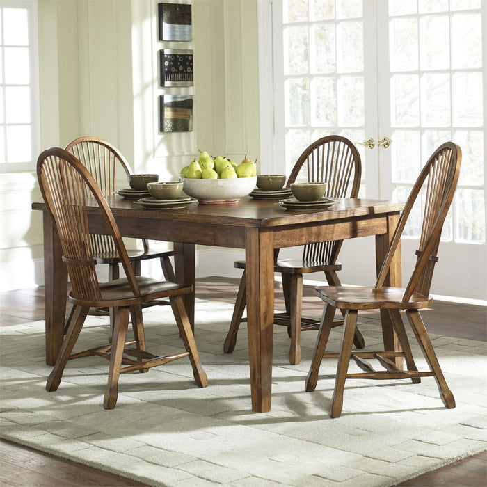 Liberty Furniture | Casual Dining Solid Top Leg Table - Oak in Richmond,VA 7804