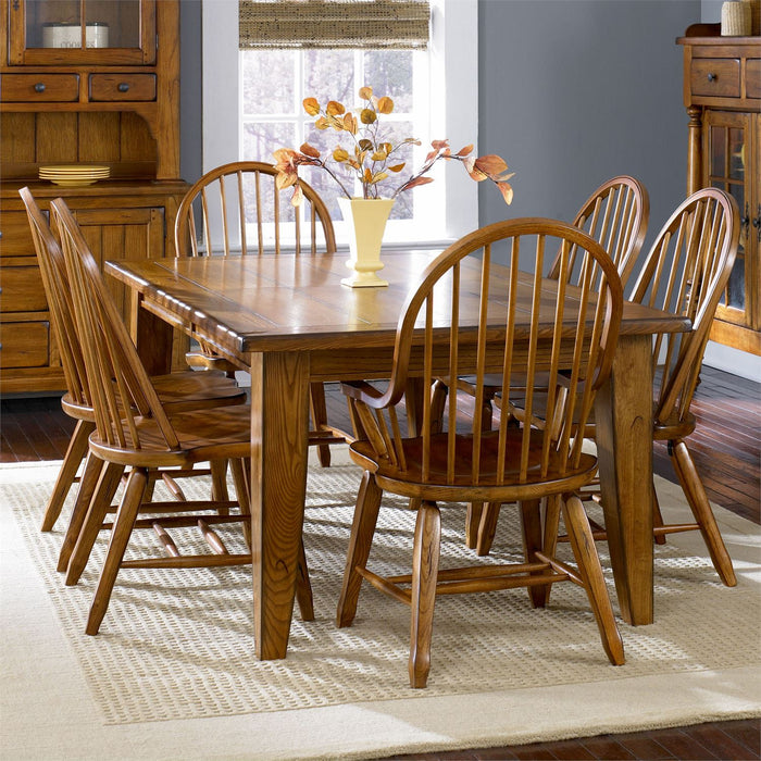 Liberty Furniture | Dining Rectangular Leg Tables - Oak in Washington D.C, Northern Virginia 11641