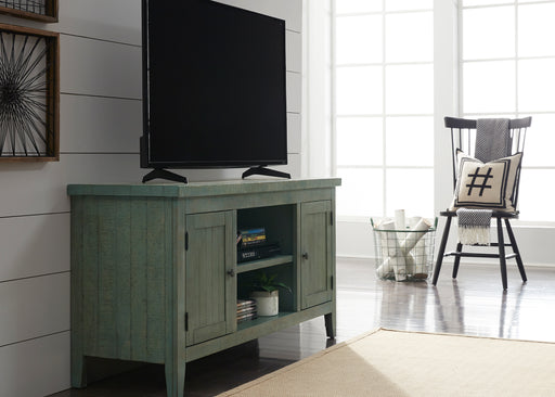 Liberty Furniture | Entertainment 54 Inch TV Console - Green in Winchester, Virginia 2082