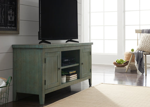 Liberty Furniture | Entertainment 60 Inch TV Console - Green in Lynchburg, Virginia 2085