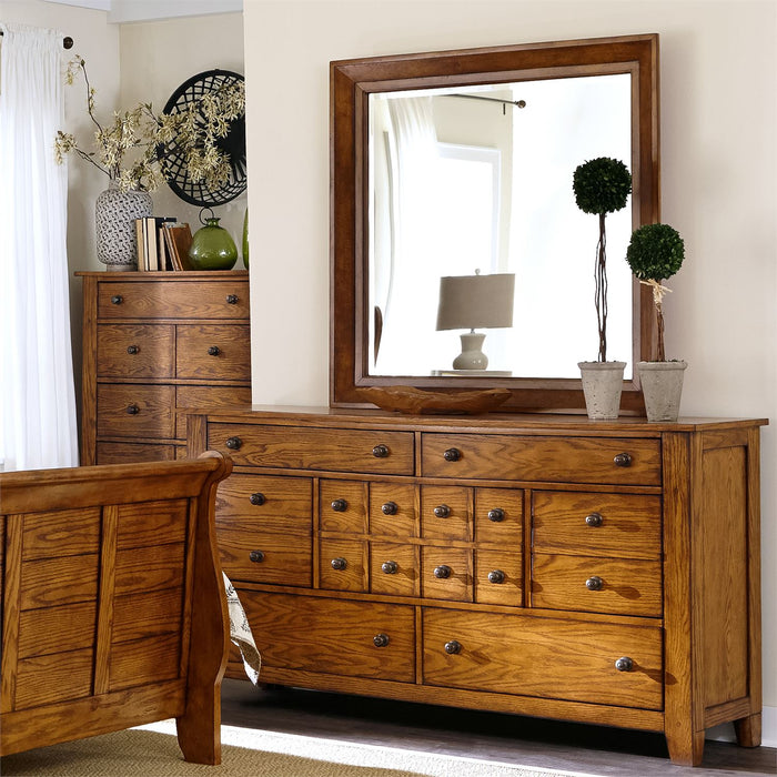 Liberty Furniture | Bedroom King Sleigh 4 Piece Bedroom Set in Frederick, MD 6575