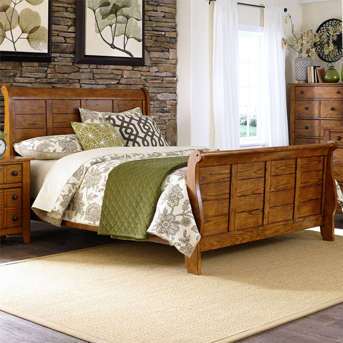 Liberty Furniture | Bedroom King Sleigh 4 Piece Bedroom Set in Frederick, MD 6574