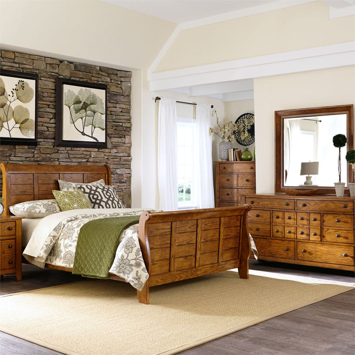 Liberty Furniture | Bedroom King Sleigh 4 Piece Bedroom Set in Baltimore, MD 6559