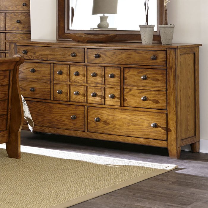Liberty Furniture | Bedroom King Sleigh 4 Piece Bedroom Set in Frederick, MD 6576